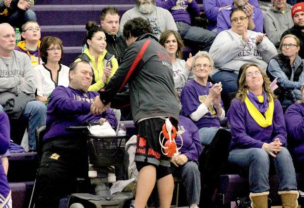 Iowa wrestler forfeits match good news story