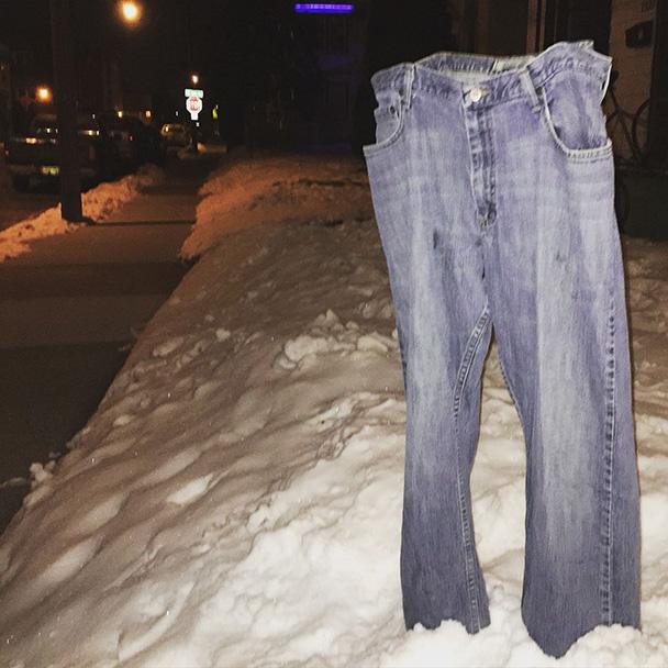freeing pants