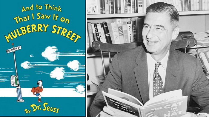 story of dr seuss rejection 20 times