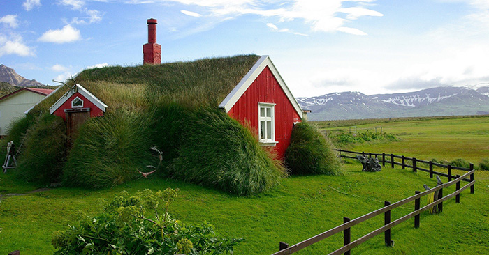 home in iceland