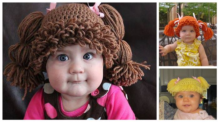 how to make cabbage patch kids hat