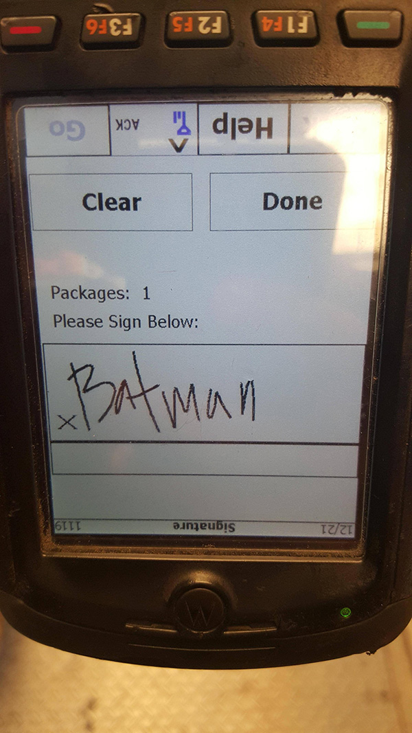 funny pictures of delivery packages