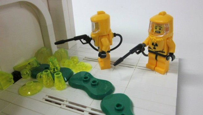 LEGO no more oil plastic