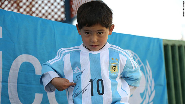messi jersey bag shirt kid news