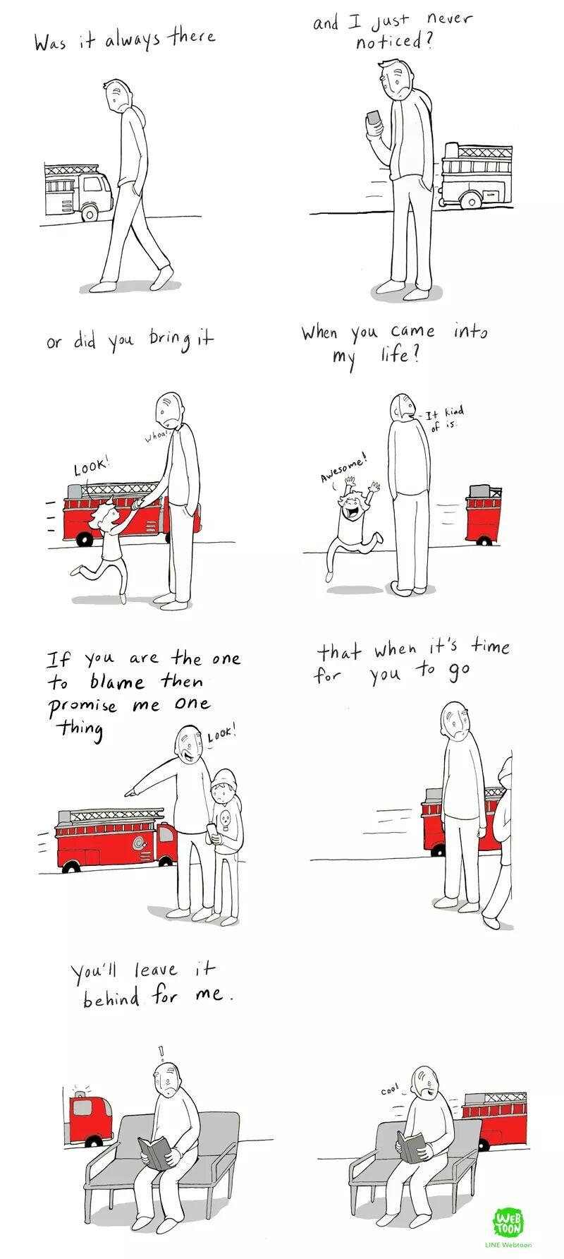 comic about life inspiring