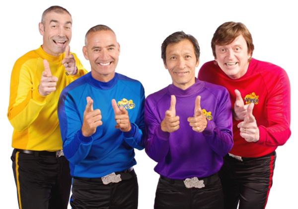 the wiggles adult concert