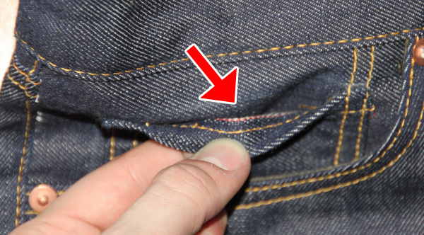 why is there a small pocket on jeans