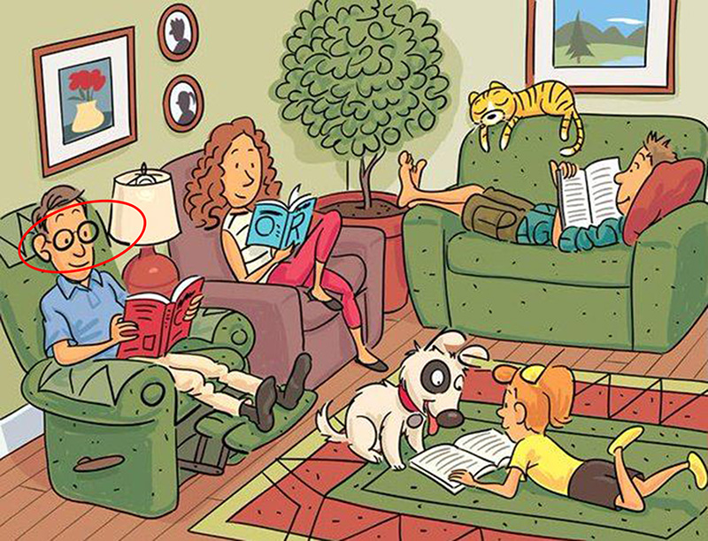 Can You Find The 6 Hidden Words In This Drawing