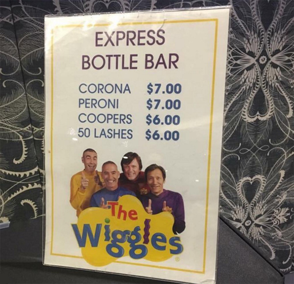 Hundreds Of Rowdy Grown-Ups Partied With The Wiggles At