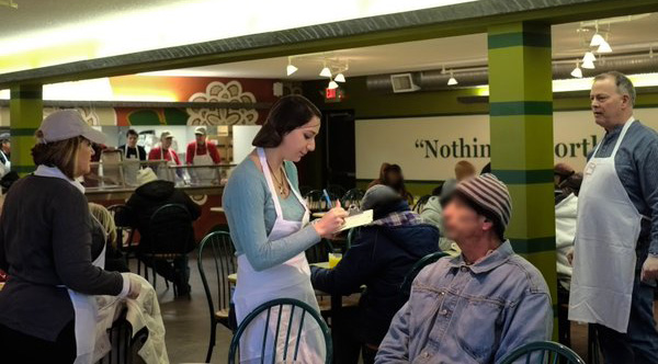 This Soup Kitchen Is Disguised As A Restaurant So The Homeless Can Dine With Dignity