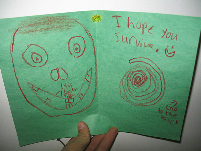 funny letters to deployed soldiers from kids