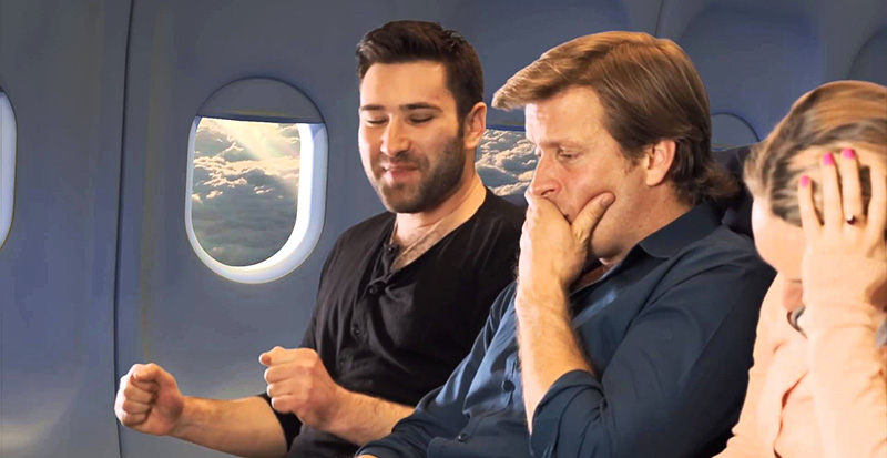 embarrassing stories about having to poop on airplane