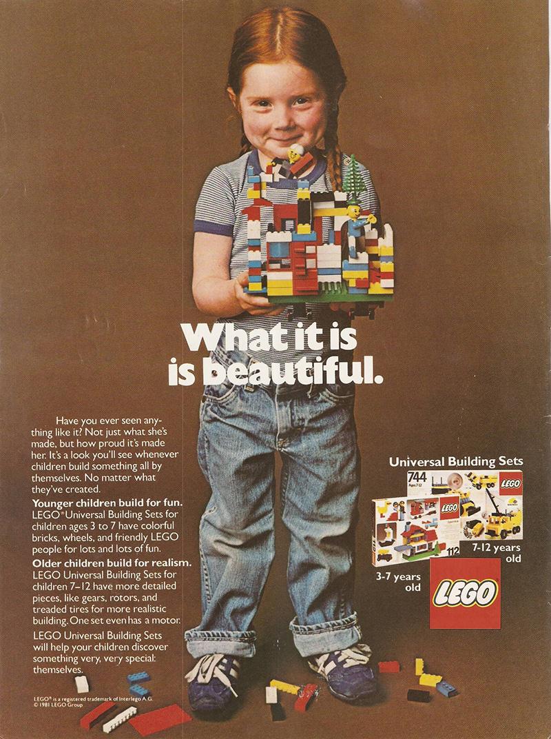 LEGO ad 1981