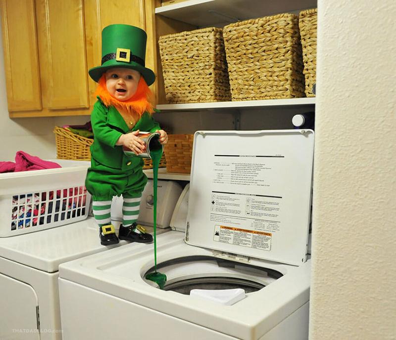 dad turned son into leprechaun