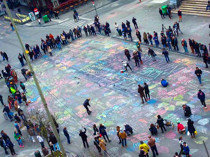 brussels chalk love