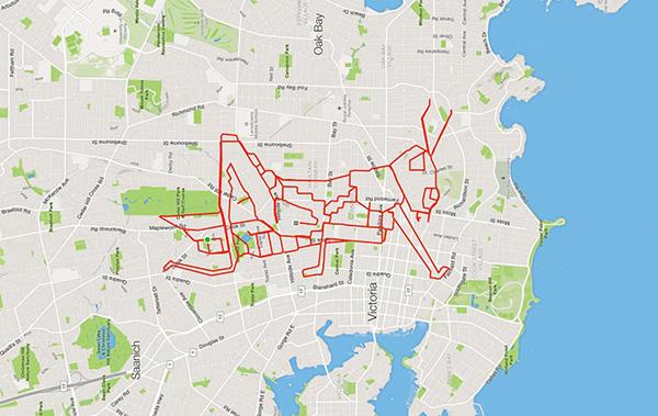 GPS doodles stephen lund
