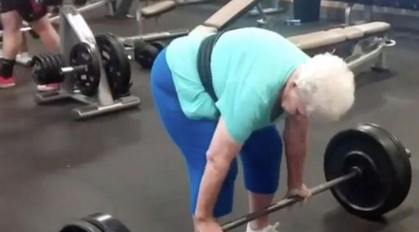 78 Year Old Grandma Couldn T Get Out Of Her Chair Now She