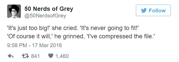50 nerds of grey funny