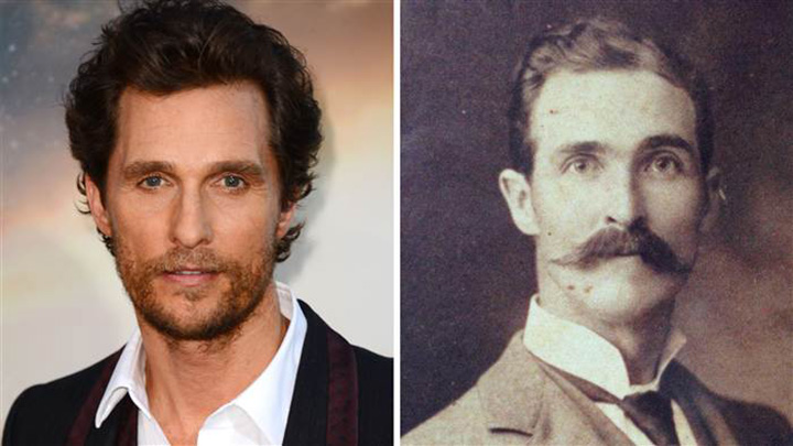 great grandfather looks like Matthew McConaughey