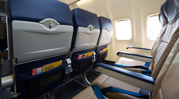 why you need to have your seat up and tray tables closed