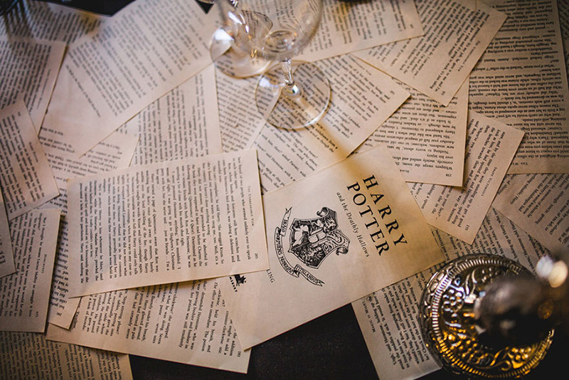 amazing harry potter wedding