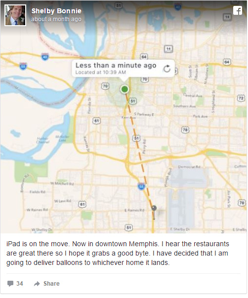 mans missing ipad goes on vacation funny updates