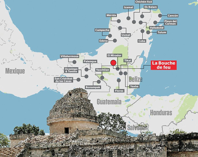 teen discovers ancient mayan city
