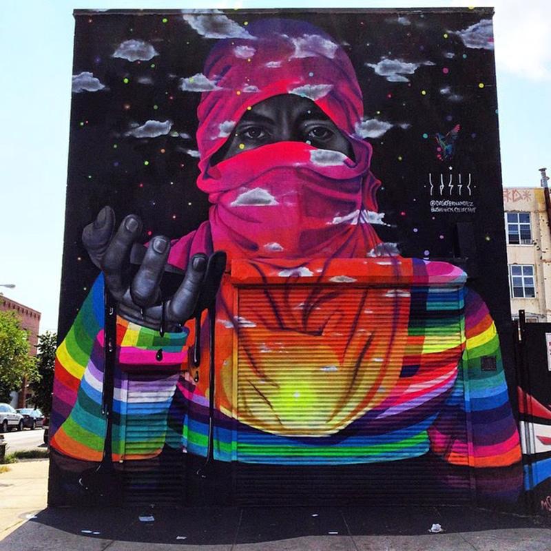 Niesamowite murale powodujące iluzję optyczną