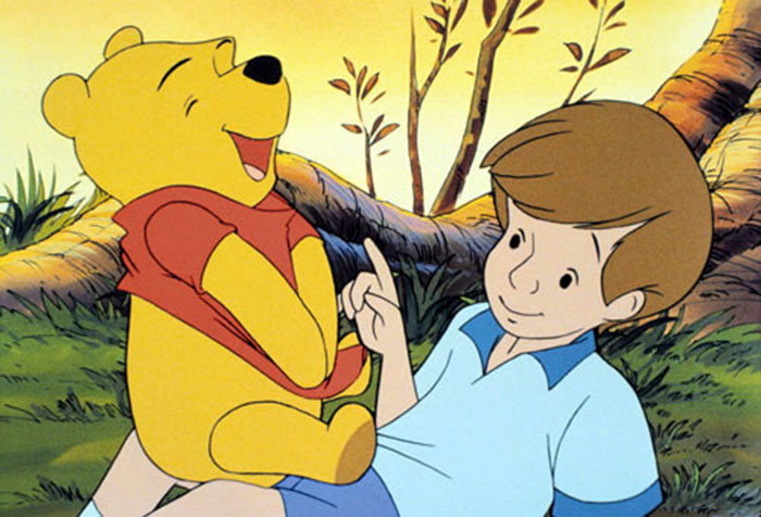 christopher Robin explains death to Pooh