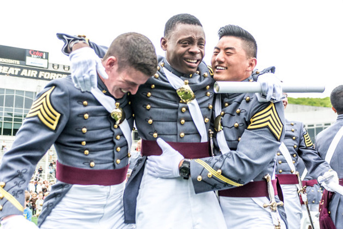 west point grad moved to tears