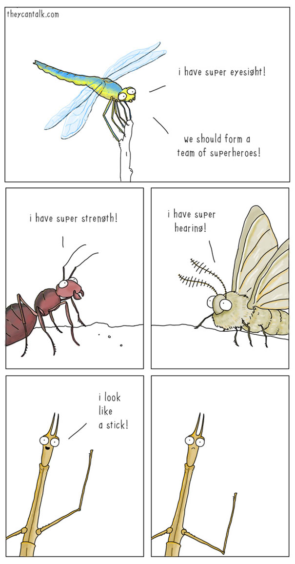 funny comics of animals talking