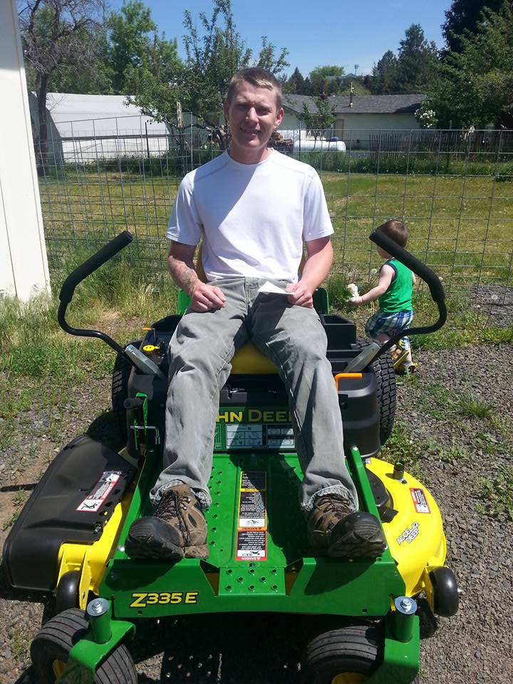 disabled vet riding mower