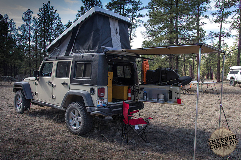 This Guy Turned His Jeep Into A House On Wheels To Travel