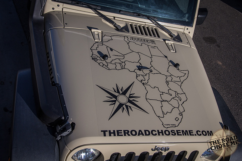 guy turns jeep into home travel africa