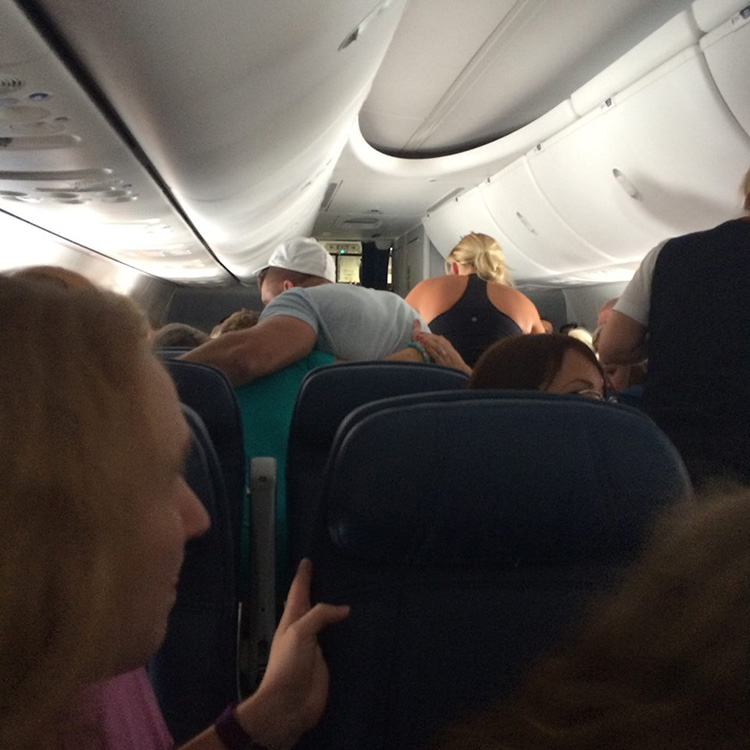 Tim Tebow airplane rescue
