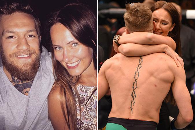 conor mcgregor girlfriend love