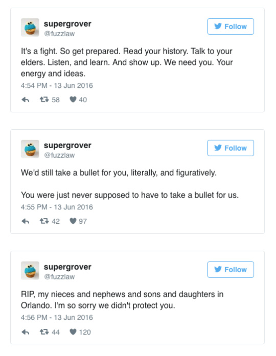 gay woman twitter rant on fight for rights