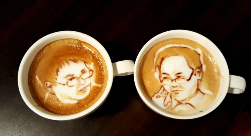 amazing barista art