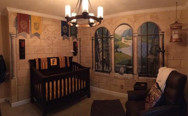 ultimate harry potter nursery