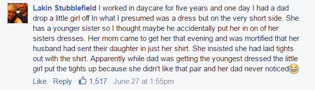 dad dressing baby fails