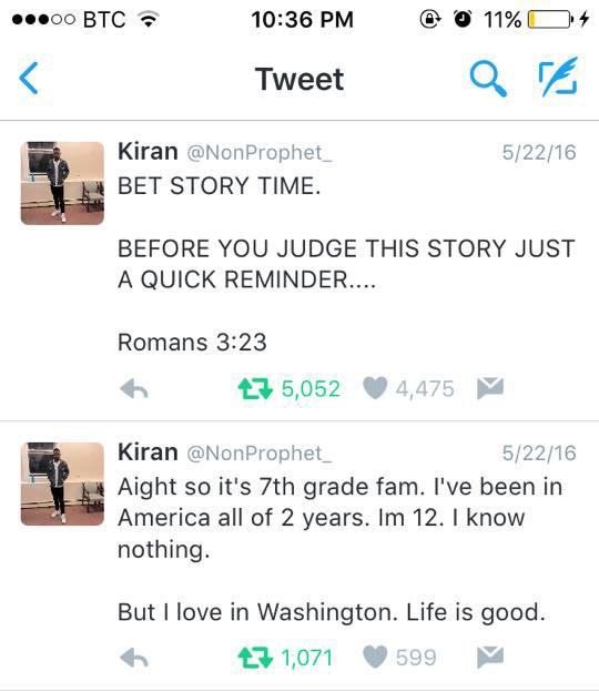 funny twitter story boy got girl pregnant never kissed