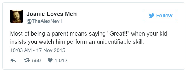 tweets from parents hilarious about toddlers