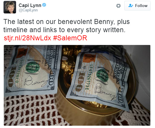 benny bills salem good news