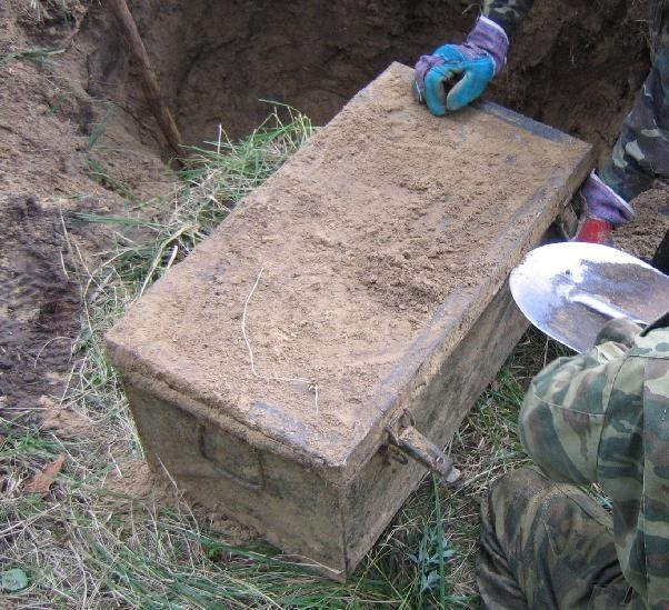 unearthed nazi ww2 stash