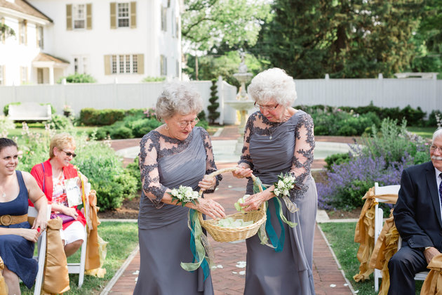 grandma flower girls