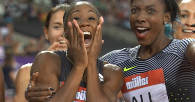 Kendra Harrison breaks world record hurdles