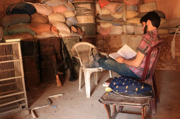 syrian secret library