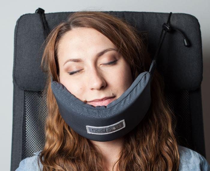 hammock sleeping on plane