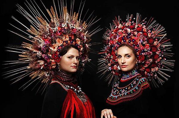 flower headdress Ukraine