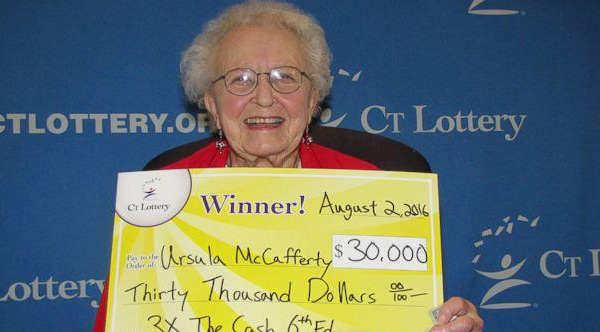 old woman wins lottery buys phone sweet reason why
